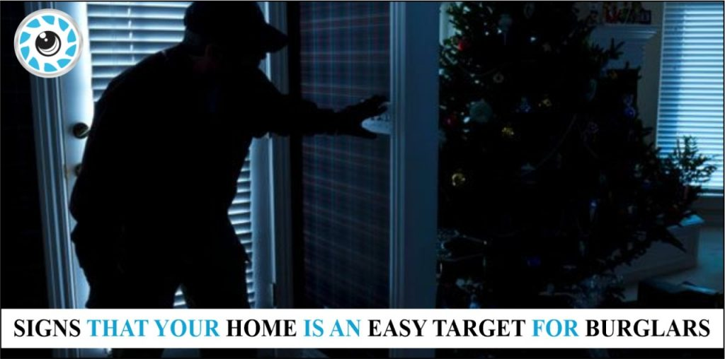 SIGNS THAT A BURGLARS IS TARGETING YOUR HOME
