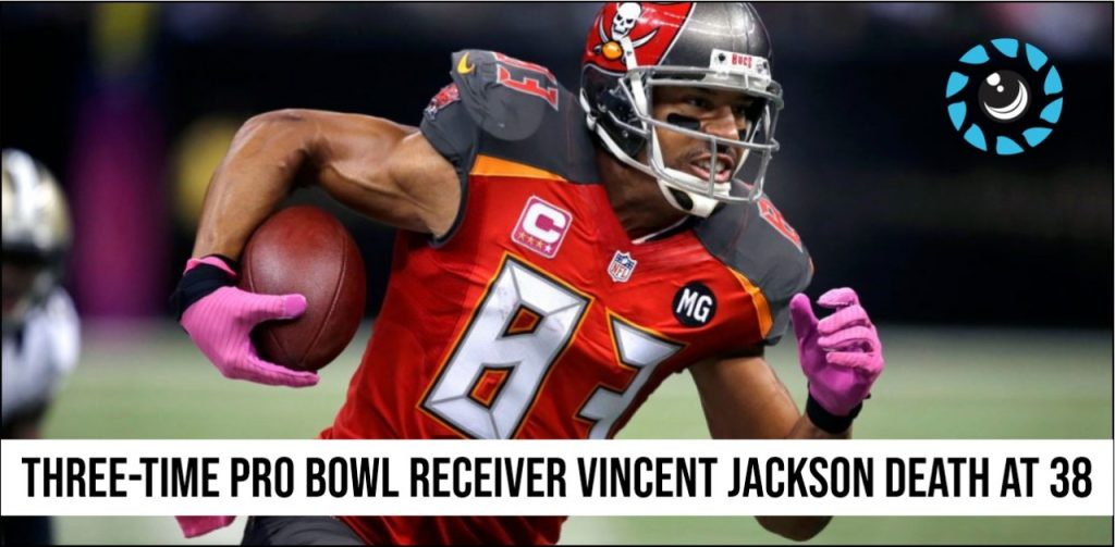 Three-time Pro Bowl receiver Vincent Jackson death at 38