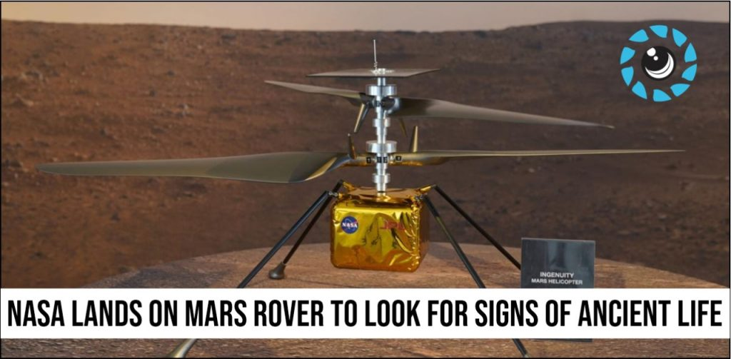 Nasa Lands on Mars rover to look for signs of ancient life