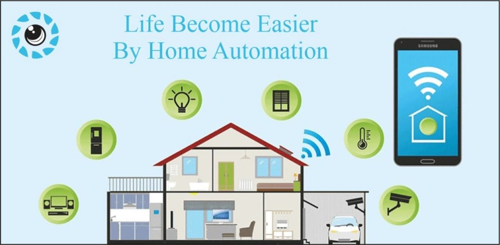 Life is Easier by Home Automation System