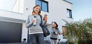 Security System role in protection of home while on vacation trip via .